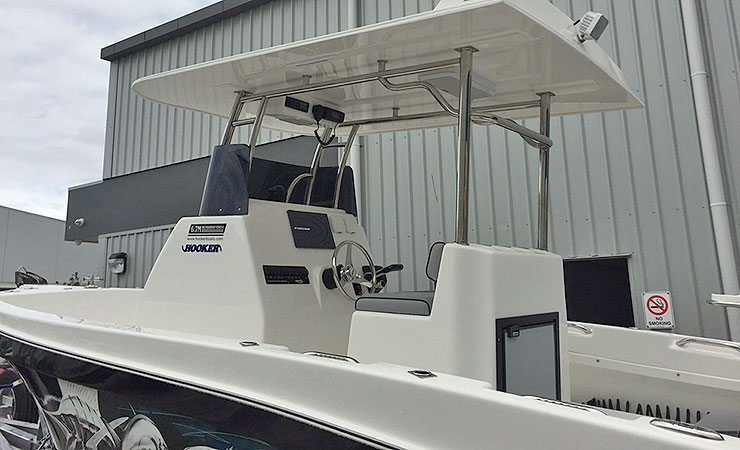 Series II 6.7mtr PF with new hardtop, console and helm seat
